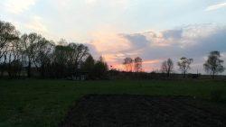 Закат на агроусадьбе