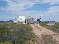 Палаточный лагерь на Должанской