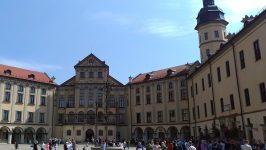 Внутренний двор Несвижского замка